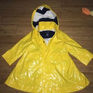 Ralph Lauren kids rain coat size 2T yellow